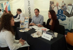 Career Fair at the University of New York Tirana