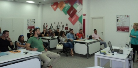 Communication skills Training in Albtelecom