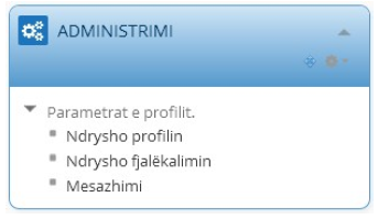 Profile Administration